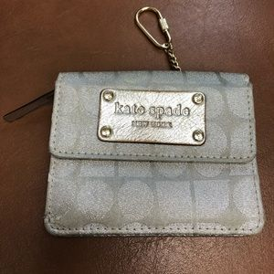 Kate Spade ID wallet with key ring